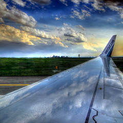 Rain on the Wing by ecstaticist