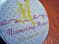 mesmerizing moments hang tags