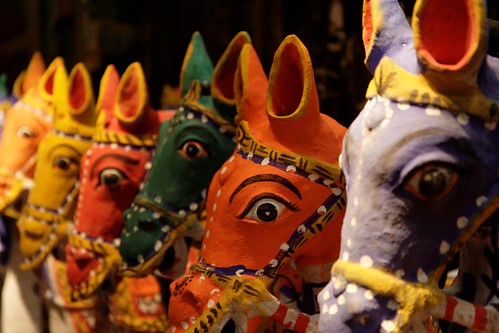 Aiyanar-Paarden