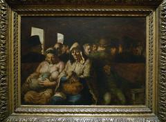 Daumier, Third Class Carriage