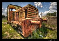 Rusty (Vin) Diesel! ;-) (zorroz) Tags: railroad train nikon rusty retro abandon rails oldtimer novisad hdr lucisart photomatix sigma1020 photomatixpro platinumheartaward nikond300 hdrfrom5jpegs