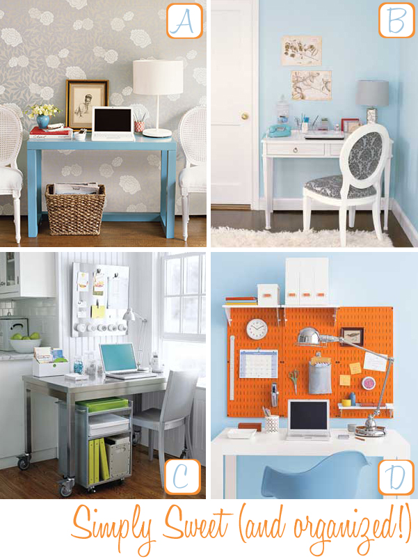 Home office organizing tips decor8 - Desk organization ideas ...