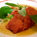 Duck in red curry sauce