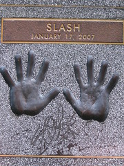 he should have laid his hands on me (_melika_) Tags: slash heavymetal hollywood fathersday gunsnroses sunsetblvd guitarcenter rockwalkoffame
