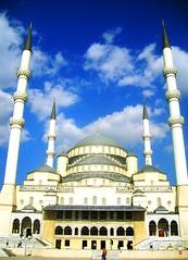 Kocatepe Mosque / Ankara / Turkey (zielony_kot) Tags: turkey muslim islam style mosque ottoman sufi ankara camii kocatepe