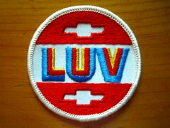 The Luv patch (goldtrout) Tags: truck sticker chevy luv patch luna16