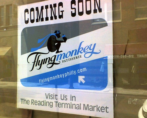 Flying monkey is opening a patisserie where the village cafe used to be! (11th & locust)
