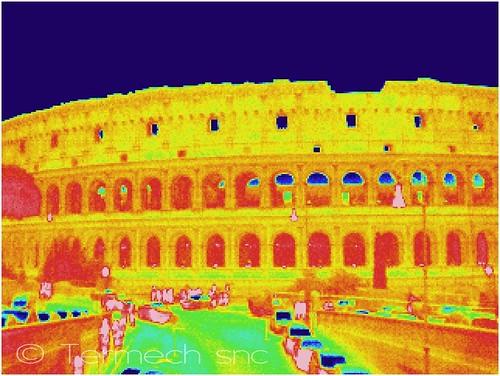 Termografia Roma Fori Imperiali