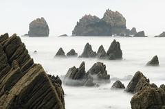Life on Mars (elosoenpersona) Tags: sea españa costa coast mar spain rocks long exposure asturias sharpen cudillero rocas asturies cantabrico cantabric elosoenpersona imagenat