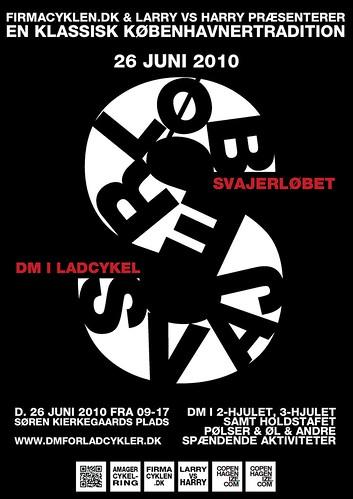 Svajerløb / DM for Ladcykler Poster Prototype 01