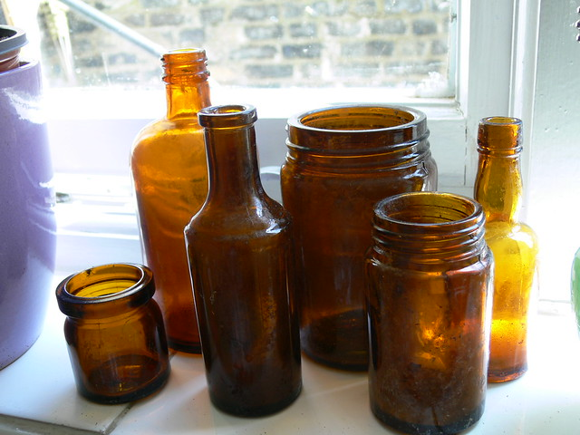 Old Brown bottles