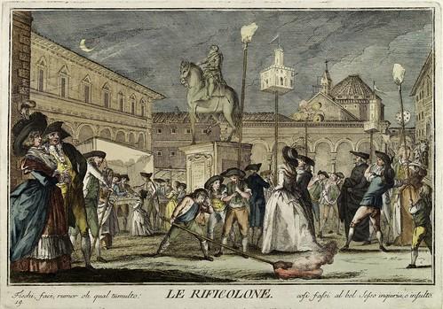 016-Las antorchas- Giuochi Trattenimenti e Feste Annue Che si Costumano in Toscana 1790- Giuseppe Piattoli