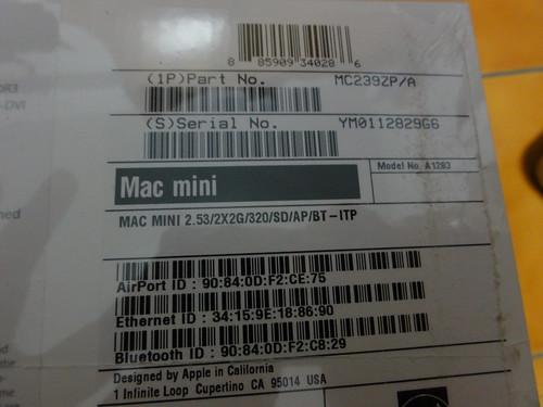 我買的是高階款的Mac mini