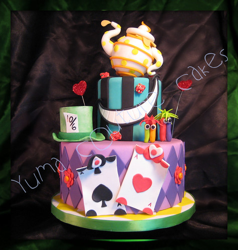 Alice in Wonderland Cake - Yuma Arizona
