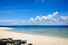 Pandanon Island (lpatigayon) Tags: vacation beach water swimming island nikon snorkel philippines diving cebu bohol whitesand islandhopping pandanon pandanonisland d300s