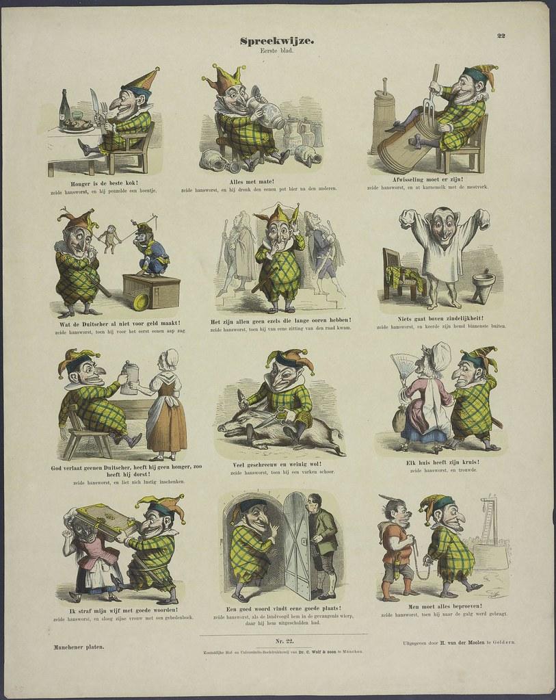 Spreekwijze by H vd Moolen 1848-1929