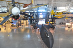 Steven F. Udvar-Hazy Center: P-40 Warhawk, SR-71 Blackbird, Naval Aircraft Factory N3N seaplane, Space Shuttle Enterprise