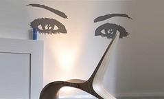 Eyes Sticker Decal (Jolyon Yates) Tags: eye wall tattoo cool eyes sticker cut vinyl rocker decal augen decor adhesive