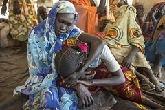 International Women's Day 2014 (UNHCR) Tags: africa women southsudan emotions grief photooftheday bereavement sudaneserefugees