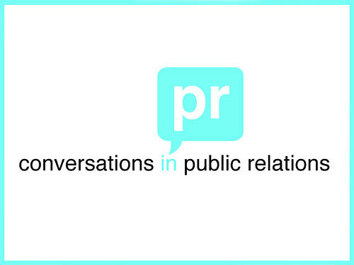 Title Slide, Conversations in Public Relations