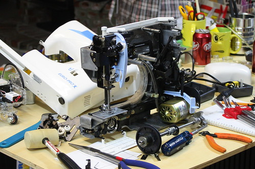 Semi Functional Sewing Machine