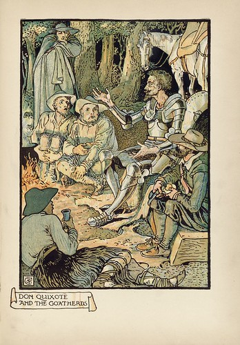020-Don Quixote of the Mancha de 1909 -Walter Crane