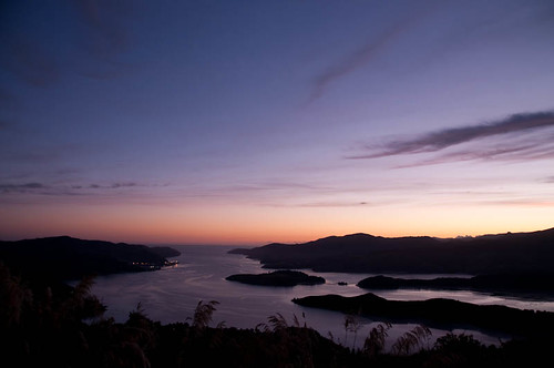 Dawn over Lyttelton