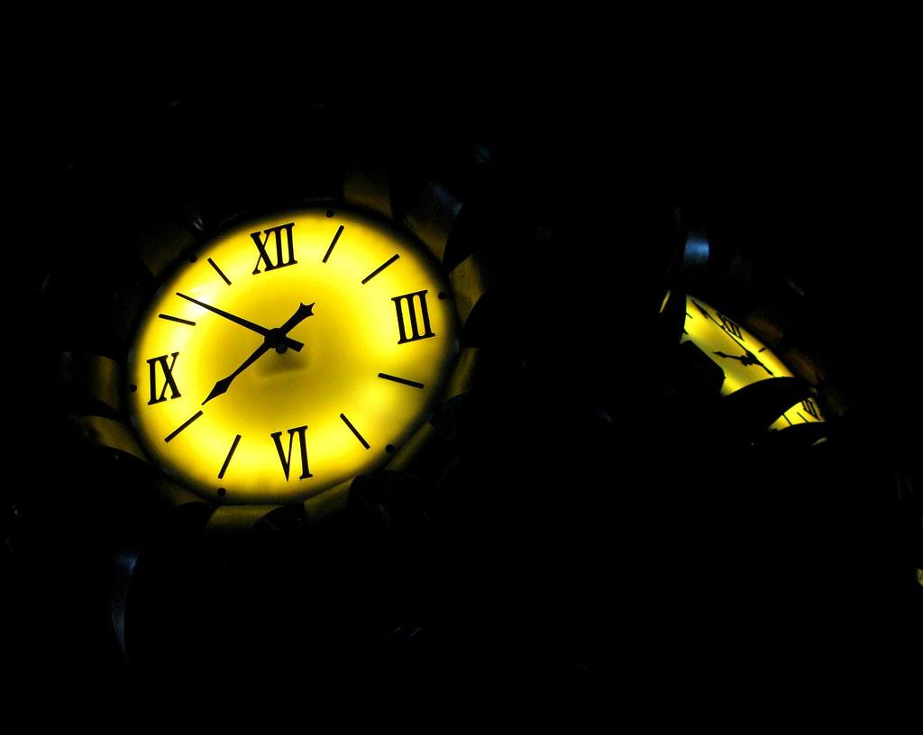 Downtown Dallas - Train Stop Clock  Explore #382