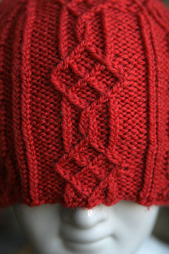"Hat ""Little Window"" Pattern"