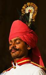 Jodhpur, India (olemole) Tags: india man fort indie jodhpur bluecity sonya200
