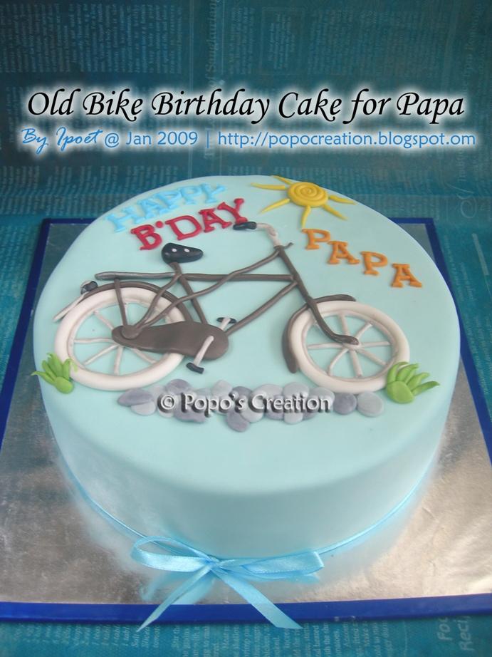 old Bike Cake