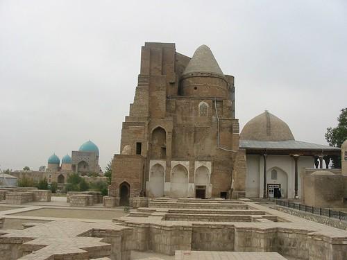 mausoleum en moskee in Shahrisabz