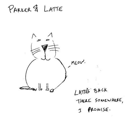 366 Cartoons - 008 - Parker & Latte