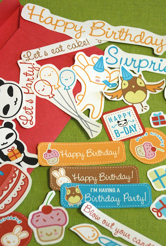 Slap Happy Birthday Printable Collage Set
