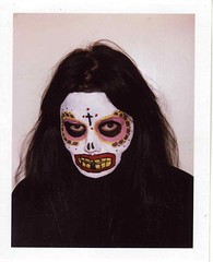 Dita Death (Luke Stephenson) Tags: portrait face festival dead polaroid paint day yeah mexican bigshot