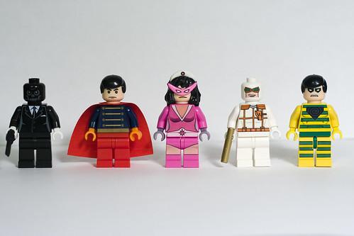 DC Supervillain custom Minifigs