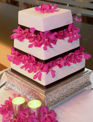Amanda & Jeff's Wedding Cake