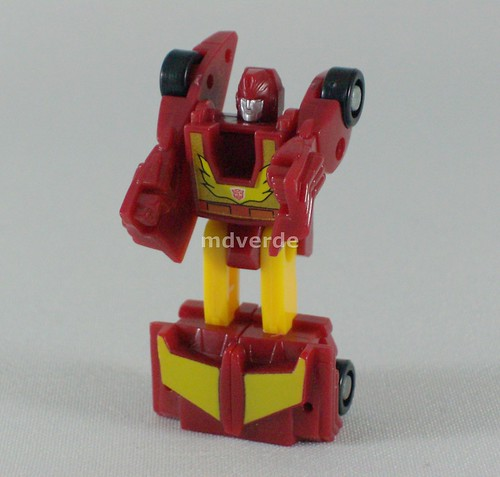 Transformers Hot Rodimus Micromaster G1 - modo robot
