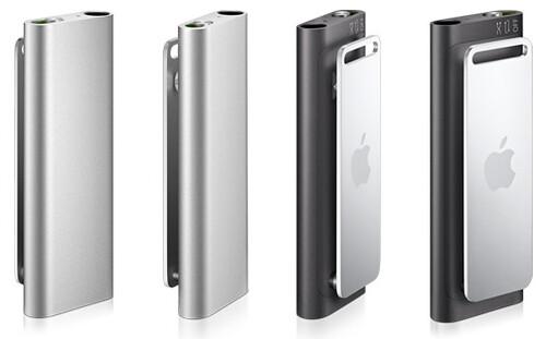 iPod shuffle (marzo 2009) grigio e nero