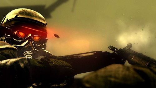Killzone 2 Behind the Bullet screen