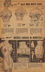"The Big ""3"" Best Bra Buys Ever (The Cardboard America Archives) Tags: woman garter vintage florida bra catalog 1959 fashions pantygirdle"
