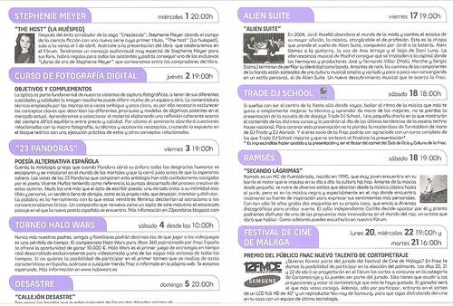 Agenda-FNAC Leganés por Ediciones Baile del Sol.