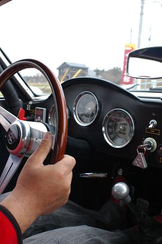 Alfa Romeo SVZ interior