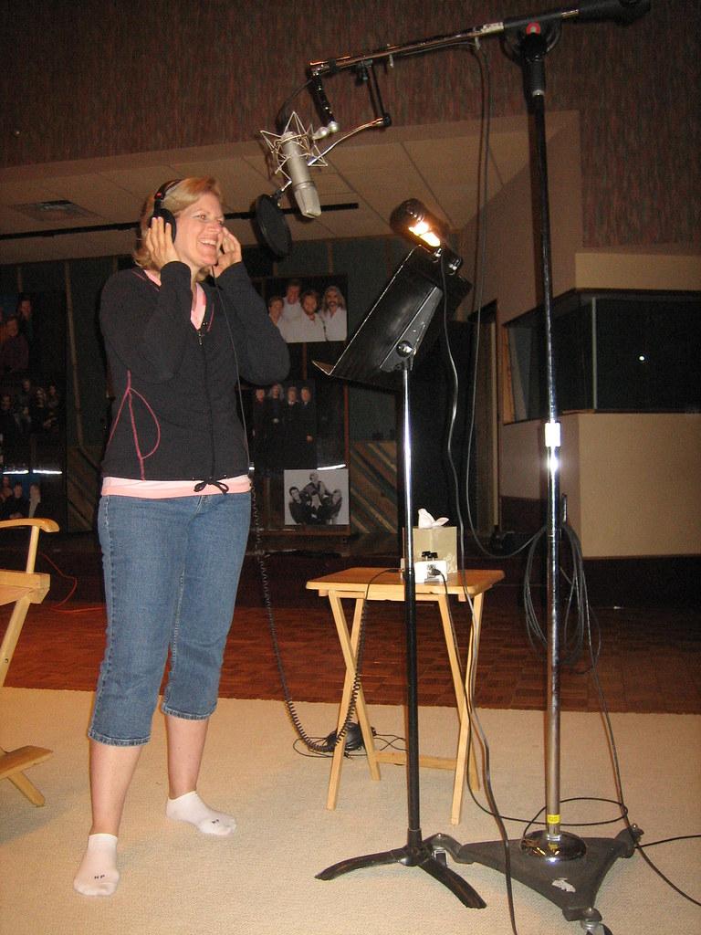 Gaither Studios vocal recording