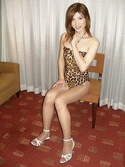 Leopard swimsuit_9 (Kyoko Matsushita) Tags: stockings asian tv legs cd crossdressing tgirl leopard transvestite swimsuit pantyhose crossdresser kyoko matsushita bathingsuit swimwear baador maillot badeanzug schwimmanzug