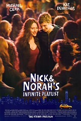 Póster Nick and Norah's Infinite Playlist Michael Cera
