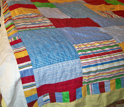 twin, hand quilted