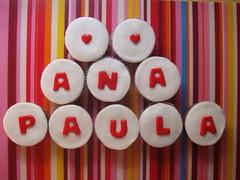 da Esther para a Ana Paula (telinha) Tags: cupcakes e minibolos