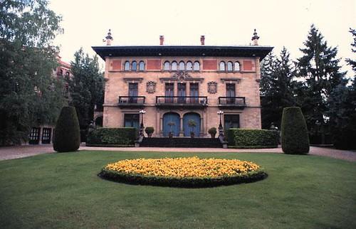 Palacio de Ajuria-Enea por inirama1.