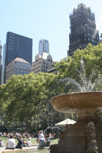 bryant park by lily
